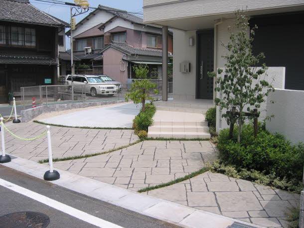 スタンプコンクリート施工事例 No.7
