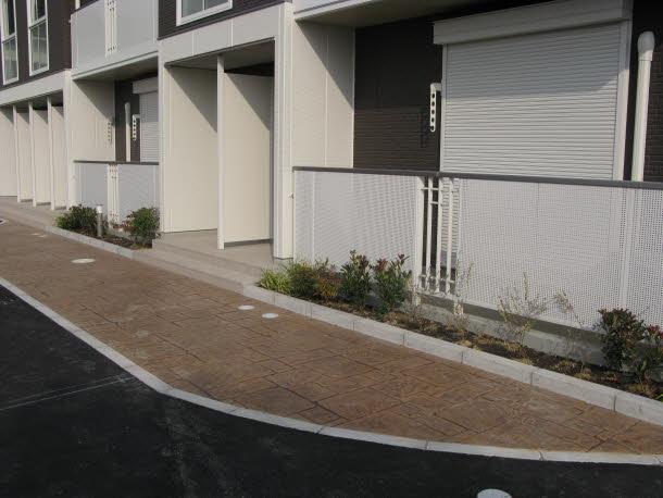 スタンプコンクリート施工事例 No.8