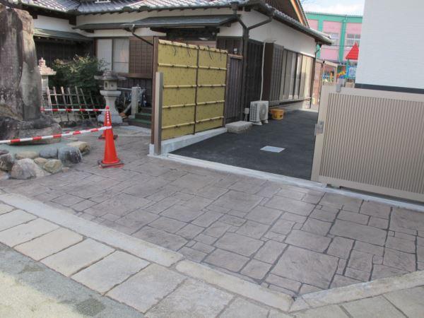 スタンプコンクリート (3)