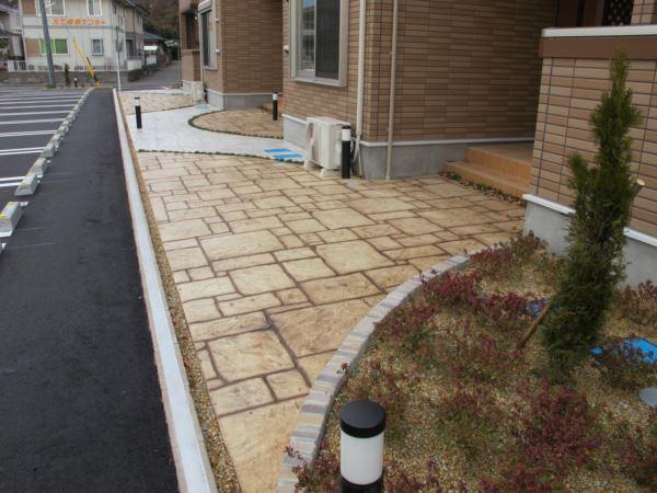 スタンプコンクリート (2)