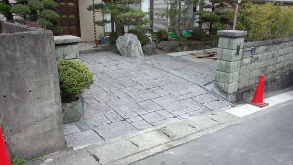 スタンプコンクリート (4)