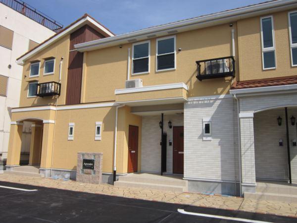 アパートマンション工事での導入事例。エントランス・玄関入り口まわり