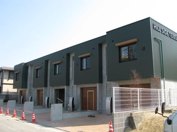 専用ガレージ付き、賃貸住宅での施工導入事例
