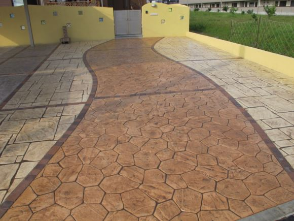 戸建住宅での駐車場施工実例