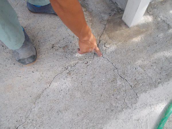 外壁塗替え塗装と同時に、外まわりのコンクリートもリニューアルできる工事事例