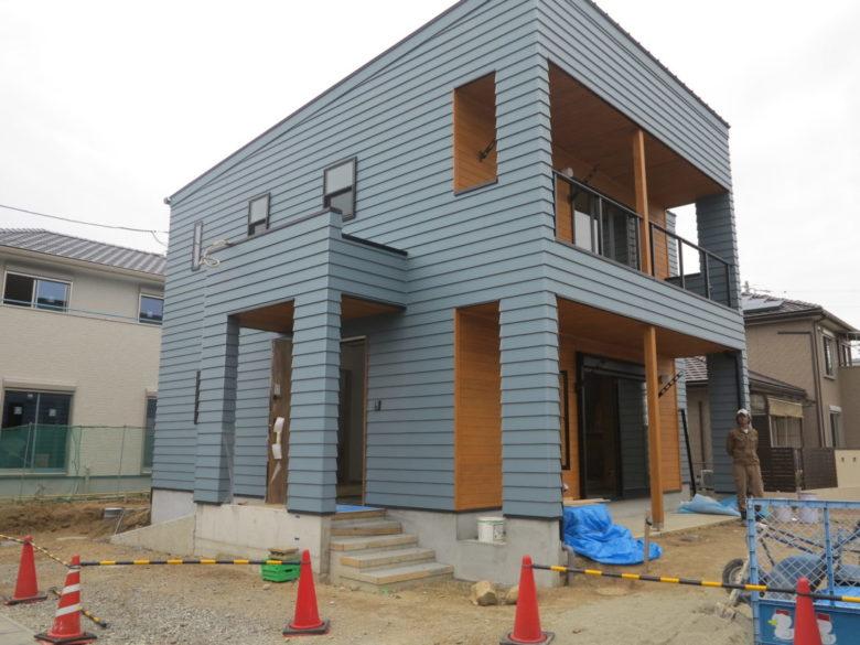 室内、内部にも使える新築住宅工事でのスタンプコンクリート施工事例