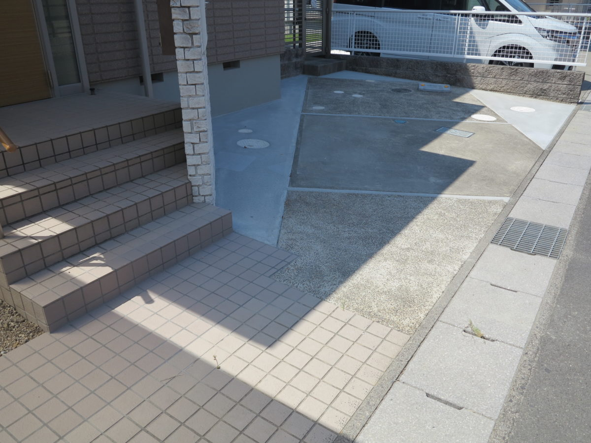 駐車場拡張工事