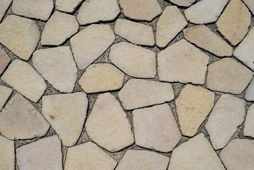 スタンプコンクリート 舗装材