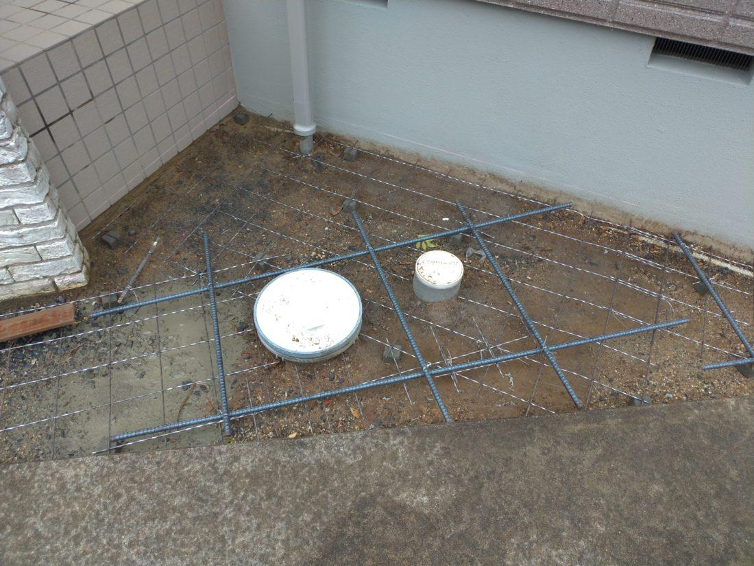駐車場 コンクリート ひび割れ