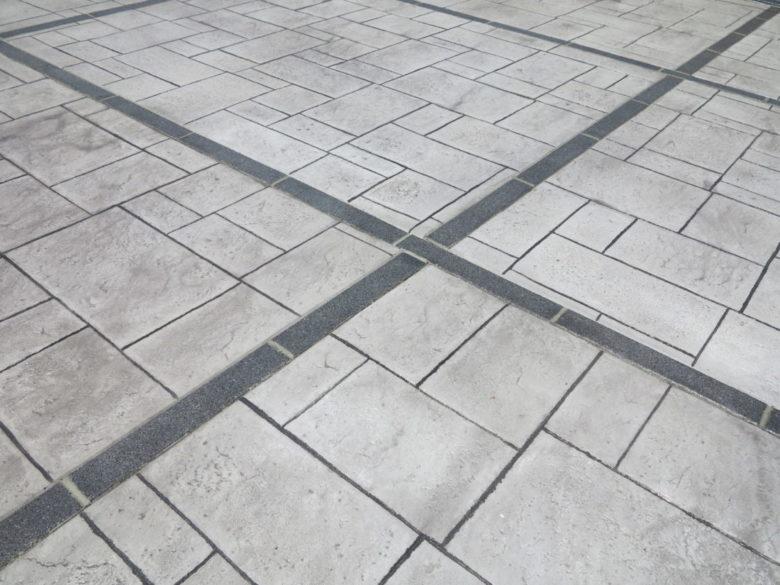 青空駐車場から庭コンクリート敷きができるまでの作業工程