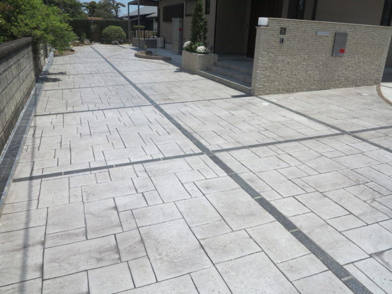 土間コンクリート工事 コンクリート舗装の地面ができるまでの作業工程