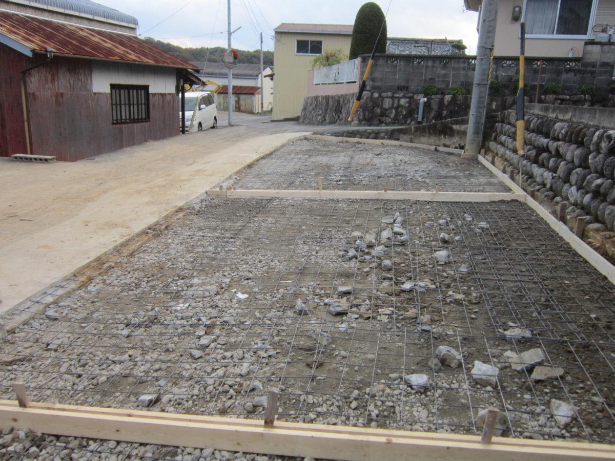 駐車場コンクリート